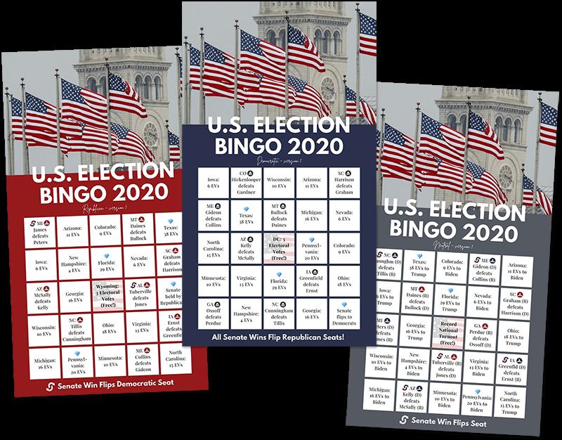 2020 Election Bingo Cards