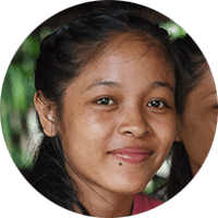 Portrait of Sitha, Zomia's first student from Cambodia