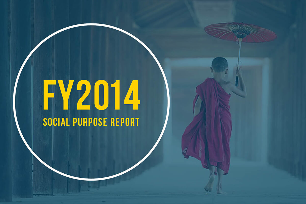 FY2014 Social Purpose Report Feature