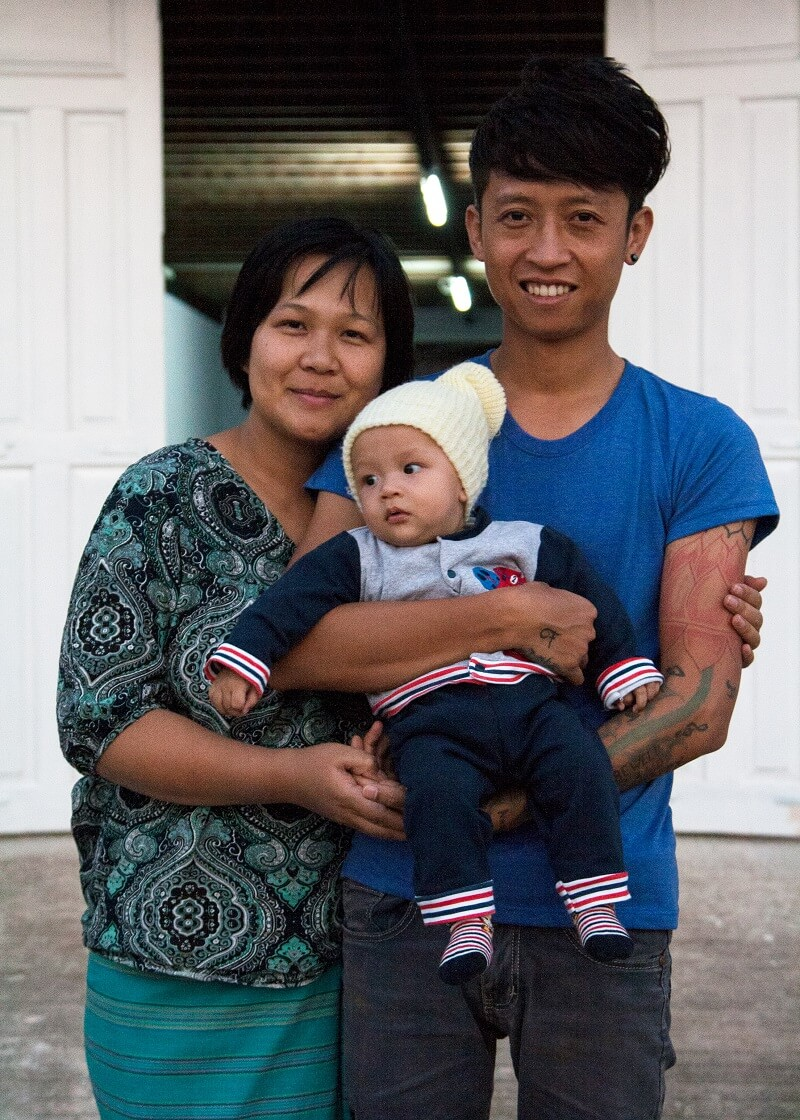 A family picture in front of the Mong Pan Youth Association office in Taunggyi.