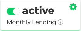 Monthly Lending Active