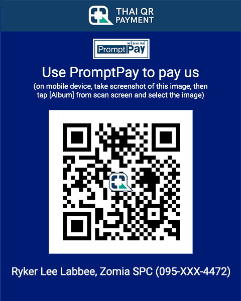 Bangkok Bank PromptPay QR Code