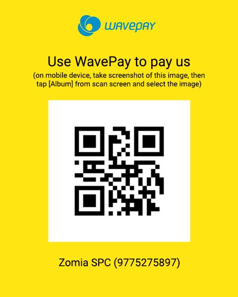 WavePay QR Code